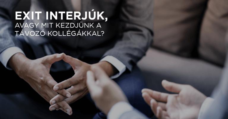 Exit interjúk, avagy mit kezdjünk a távozó kollégákkal?