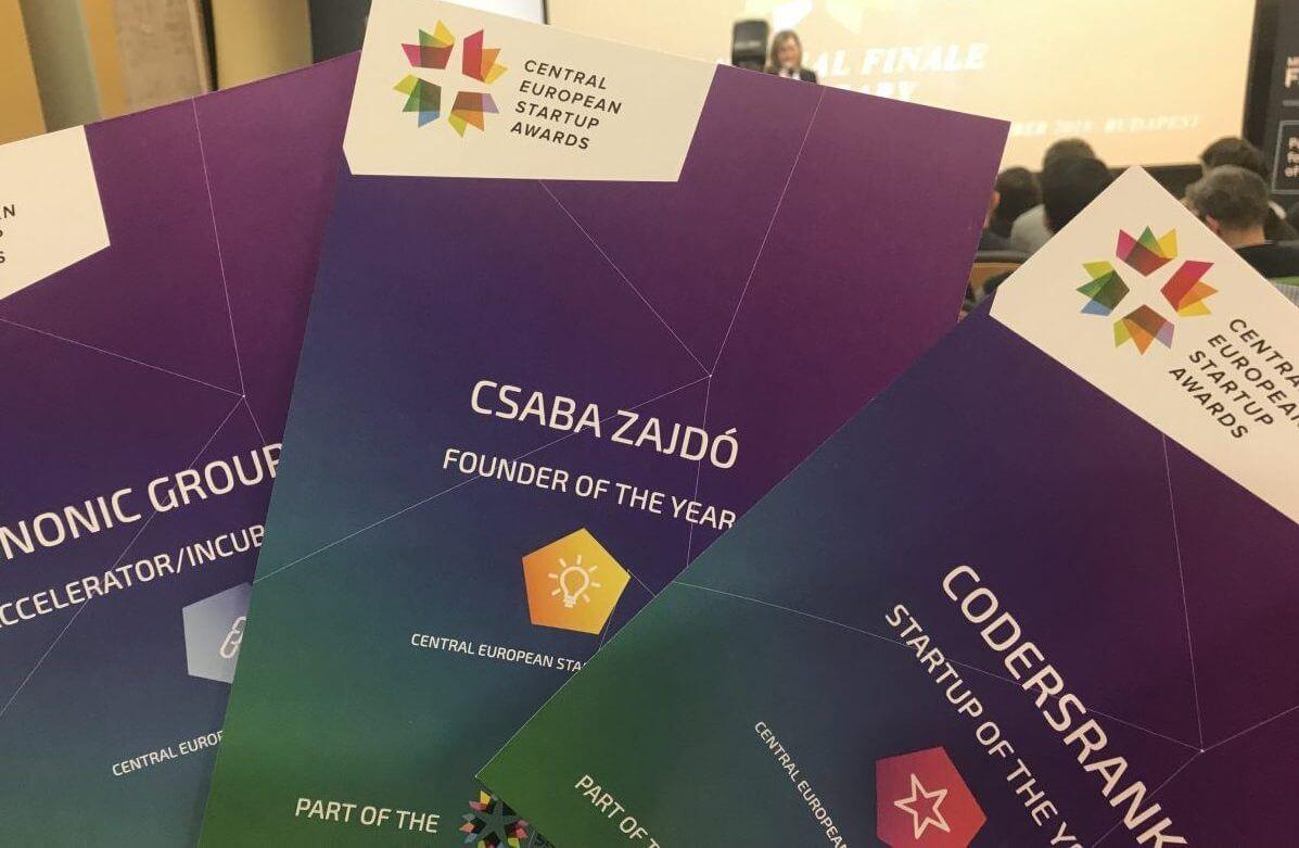 3 díjjal tértünk haza a Central European Startup Awards nemzeti döntőjéről!