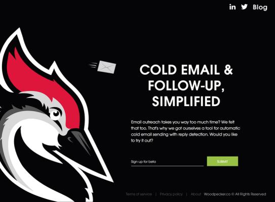 woodpecker marketing eszköz