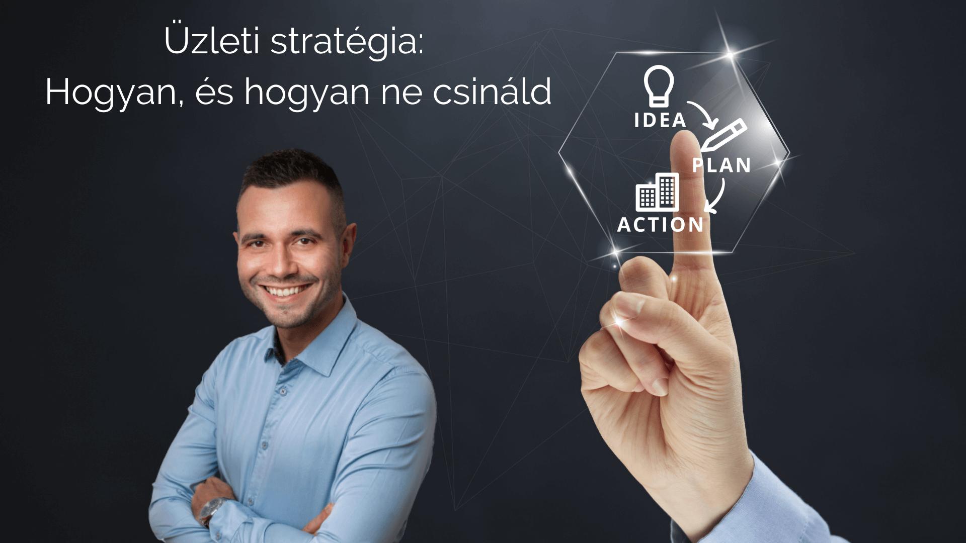 üzleti stratégia